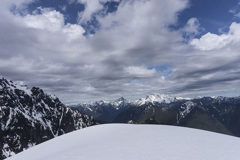 The view from Alouette Mountain. Mountains are pretty awesome for gaining perspective
