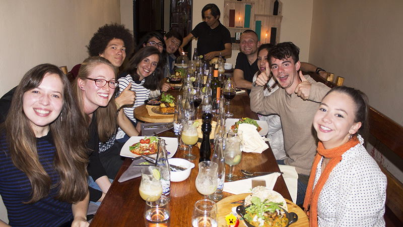 My goodbye party in Cusco with the LAFF Team and my cusquenan friends.