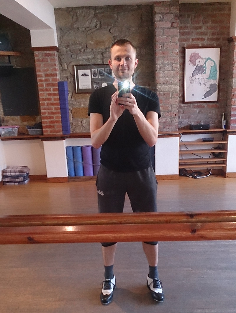 My last visit to a dance studio