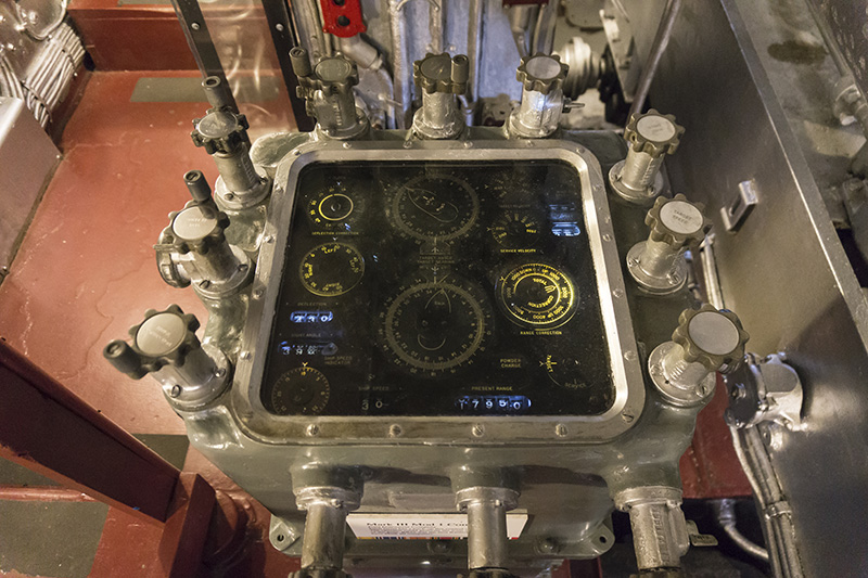 "Control panel for The ""Big Guns"" - 16-inch battery"